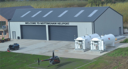 Helicopter storage solutions