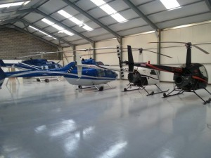 Helicopter storage