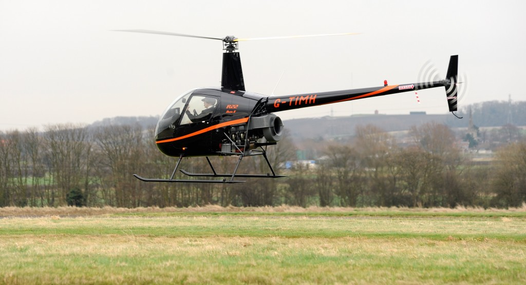 flying lesson helicopter
