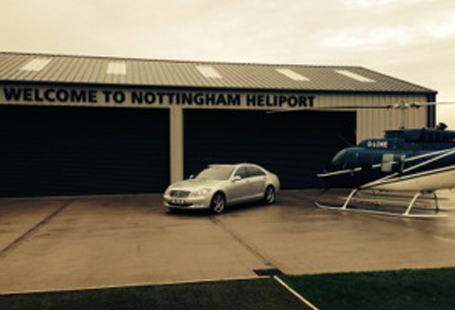 Nottingham Heliport