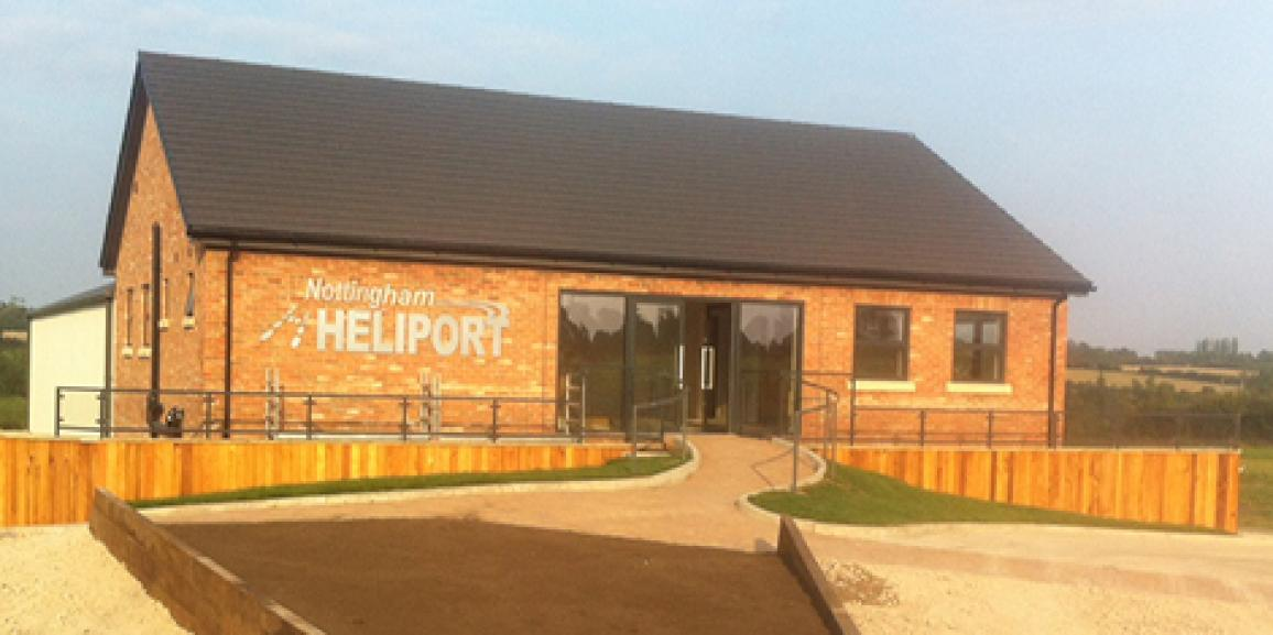 Nottingham Heliport Opening Soon