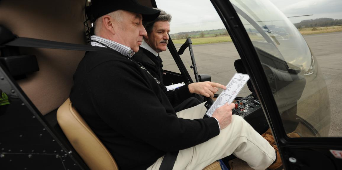 Flying Lessons At Nottingham Heliport With Central Helicopters